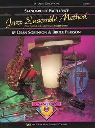 Jazz Ensemble Method 2nd Alto Sax enc CD
