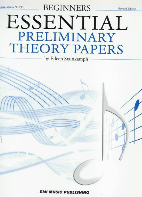 Essential Theory Papers 1st Grade