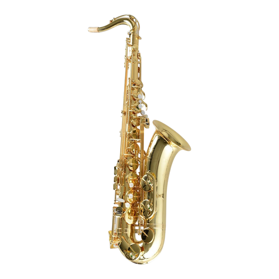 Temby Professional Tenor Saxophone