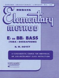 Elementary Method for Eb or B Bb Bass - N.W Hovey