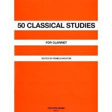 50 Classical Studies for Clarinet