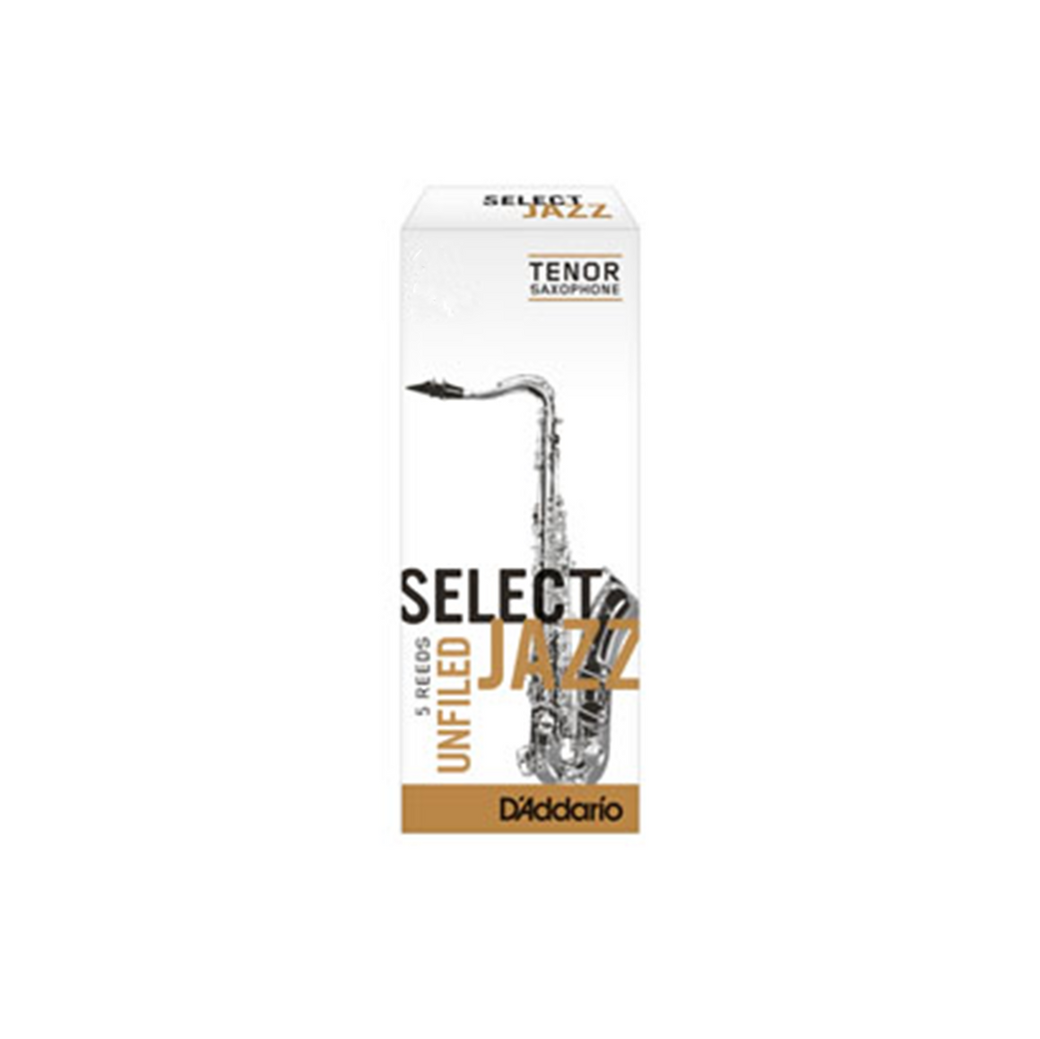 D'Addario Select Jazz Tenor Sax Reed Unfiled