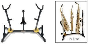 Hercules Duo Saxophone Stand without Pegs - DS537B