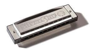 Hohner Silver Star Harmonica - 504/20 C