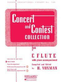 Concert and Contest Collection for Solo C Flute - H. Voxman