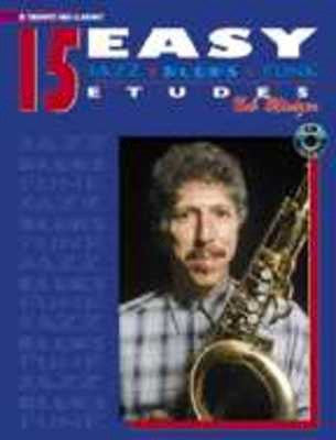 15 Easy Jazz Blues Funk Etudes with CD, Bob Mintzer