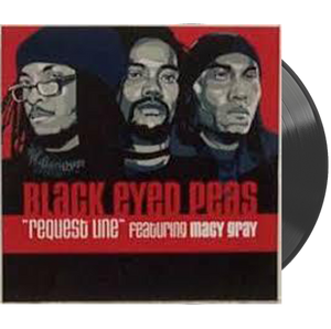 "BLACK EYED PEAS FEAT. MACY GRAY - REQUEST LINE - 12"" VINYL"