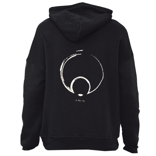 LIGHTWEIGHT LOGO BACK ON THE BLACK PULLOVER HOODIE! BEST SELLER!