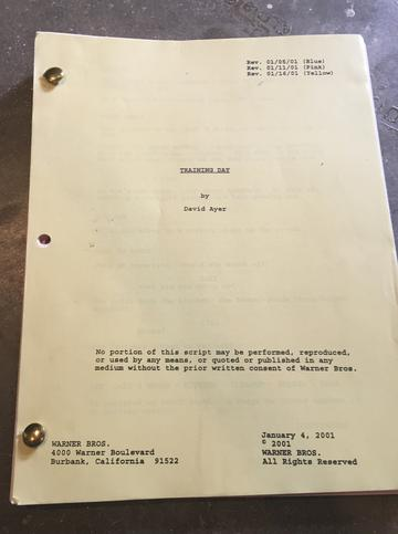 MACY'S ORIGINAL ONSET TRAINING DAY SCRIPT