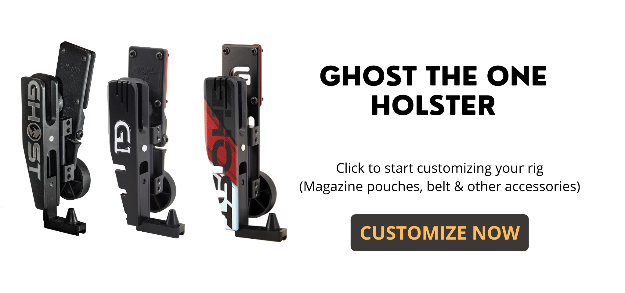 Ghost The One Holster - Speededge