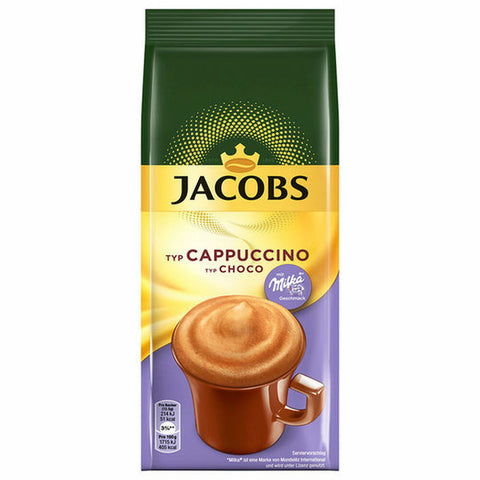 Jacobs Moments Schoco Cappuccino type Choco refill bag