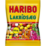 Haribo licorice egg 325 g