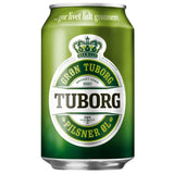 Tuborg green 24 x 33 cl
