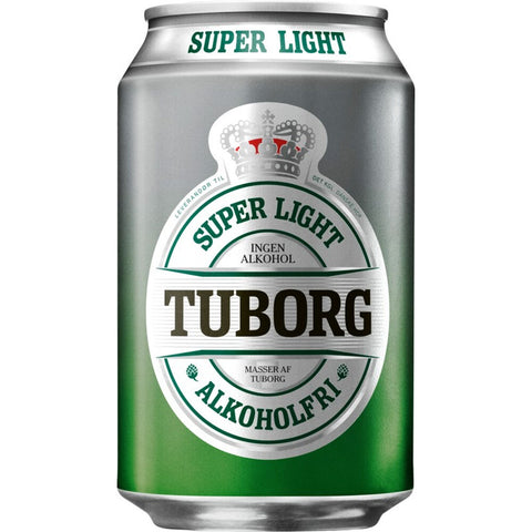Tuborg Super light 0.09% 24x33 cl