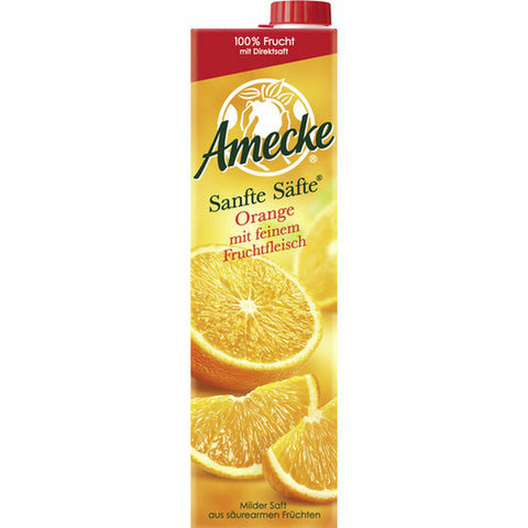Amecke gentle juices orange with pulp