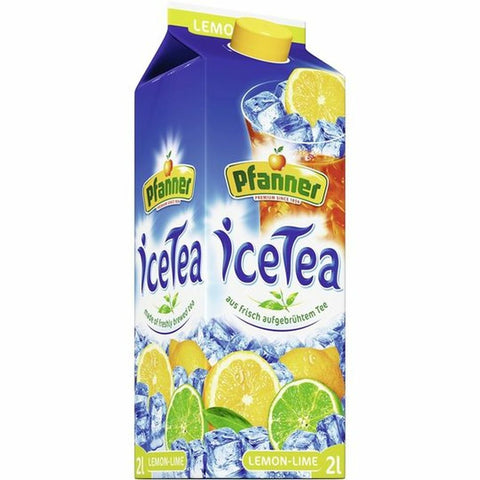 Pfanner iced tea lemon-lime 2,0l