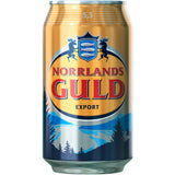 Norrlands Guld Export Beer 5.3% 24 x 330ml