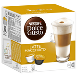 Shop Nescafé Dolce Gusto Latte Macchiato Coffee Capsules 16 Piece(s) at great prices on discandooo.com