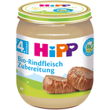 Shop 6x Hipp Organic Baby Food Beef (From The 4Th Month) 125g at great prices on discandooo.com