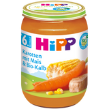 Shop 6x Hipp Organic Baby Food Carrots With Corn & Veal (From The 6Th Month) 190g at great prices on discandooo.com