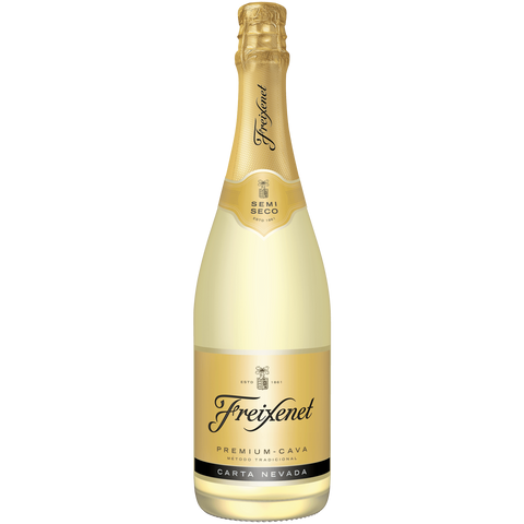 Shop Freixenet Carta Nevada Semiseco Sparkling Wine 12% 0.75L at great prices on discandooo.com