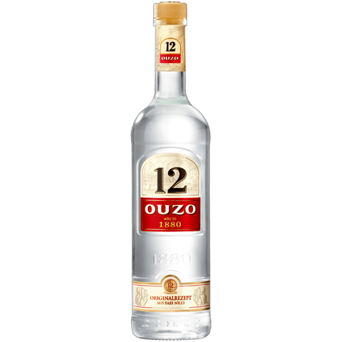 Shop Ouzo 12 Liqueur 38% 1L at great prices on discandooo.com