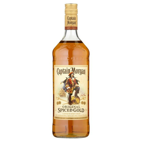 Shop Captain Morgan Rum Spiced Gold 35% 1L at great prices on discandooo.com