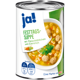 Shop 3x Ja! Feast Day Soup With Meatballs & Custard Royale 400g at great prices on discandooo.com