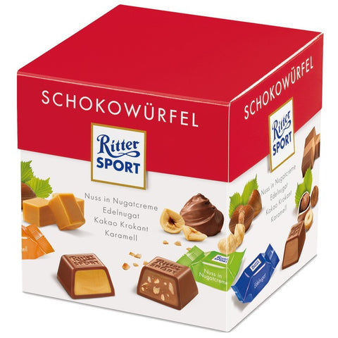 Shop Ritter Sport Chocolate Cube Variety 176g at great prices on discandooo.com