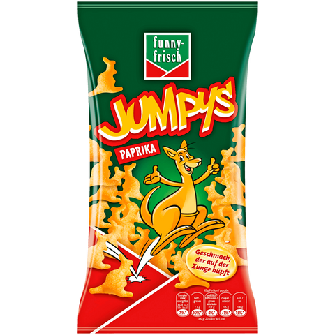 Shop 2x Funny-Frisch Chips Jumpys 75g at great prices on discandooo.com