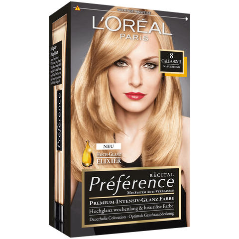 Shop L'Oreal Paris Preference Coloration Natural Blonde 8 1 Piece(s) at great prices on discandooo.com