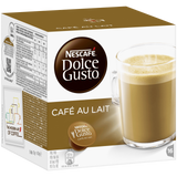 Shop Nescafé Dolce Gusto Café Au Lait Coffee Capsules 16 Piece(s) at great prices on discandooo.com