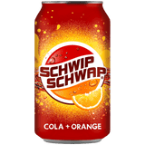 Pepsi Schwip Schwap Cola & Orange Soda 24 x 330ml