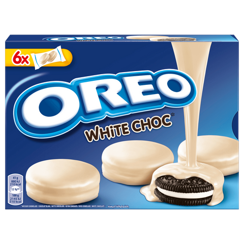 Shop 2x Oreo Cookies Choco White Chocolate 246g at great prices on discandooo.com