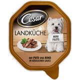 Shop 6x Cesar Dog Food Wet Turkey & Beef Fillets In Sauce 150g at great prices on discandooo.com
