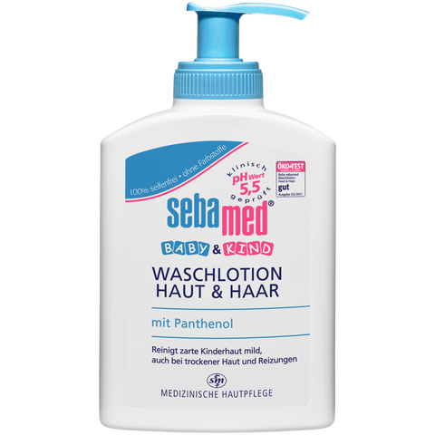 Shop Sebamed Baby & Child Washing Lotion Skin & Hair pH Neutral 200ml at great prices on discandooo.com