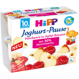 Shop Hipp Jogurt-Break Raspberry In Apple-Banana 4 x 100g at great prices on discandooo.com