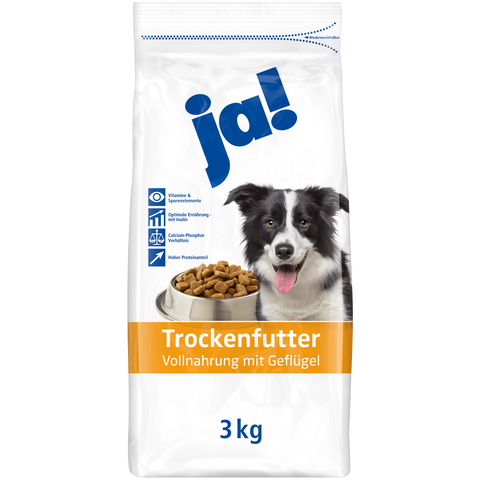 Shop Ja! Dog Food Dry With Poultry 3kg at great prices on discandooo.com