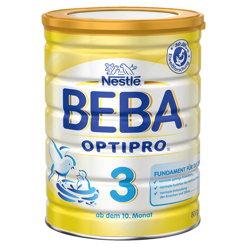 Shop Beba Follow-On Milk Optipro 3 (From 10th Month) 800g at great prices on discandooo.com