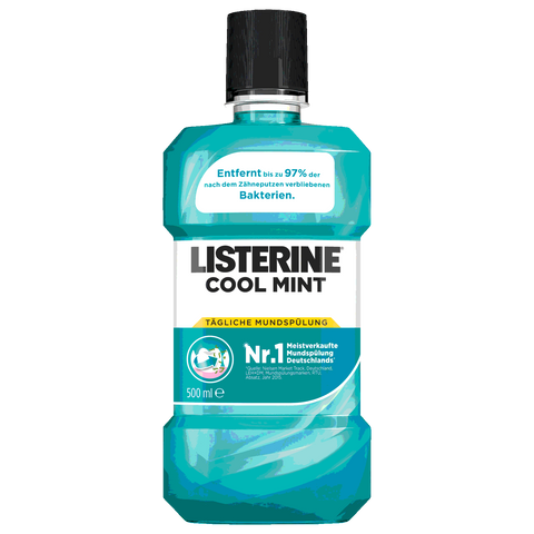 Shop Listerine Mouthwash Cool Mint 500ml at great prices on discandooo.com