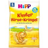 Shop 4x Hipp Kids Snack Millet Curls (From The 8Th Month) 30g at great prices on discandooo.com