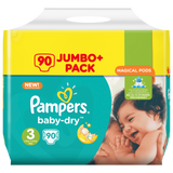 Shop Pampers Baby Dry Diapers Midi Size 3 (4-9Kg) Jumbo Pack 90 Piece(s) at great prices on discandooo.com