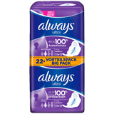Shop Always Sanitary Napkins Ultra Long With Wings Value Pack 2 x 11 Piece(s) at great prices on discandooo.com