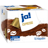 Shop 3x Ja! Espresso Capsules 10 Piece(s) at great prices on discandooo.com