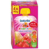 Shop Bebivita Kids Fun Strawberry In Apple-Pear (Pureed Fruits) 4 x 90g at great prices on discandooo.com