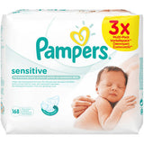 Shop Pampers Wet Wipes Sensitive Bargain Pack 3 x 56 Piece(s) at great prices on discandooo.com
