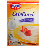 Shop 3x Dr. Oetker Grießbrei Classic 92g at great prices on discandooo.com