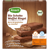 Shop Alnavit Organic Chocolate Wafer Bars Gluten Free 3 x 25g at great prices on discandooo.com