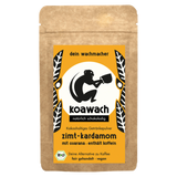 Shop Koawach Organic Drinking Chocolate With Guarana Cinnamon & Cardamom Contains Caffeine 120g at great prices on discandooo.com