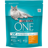 Shop Purina One Adult Cat Food Dry Chicken & Whole Grain 800g at great prices on discandooo.com